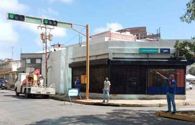 Alrededor del 85 por ciento de la avenida 4 de Mayo fueron reparados al inicio de esta semana