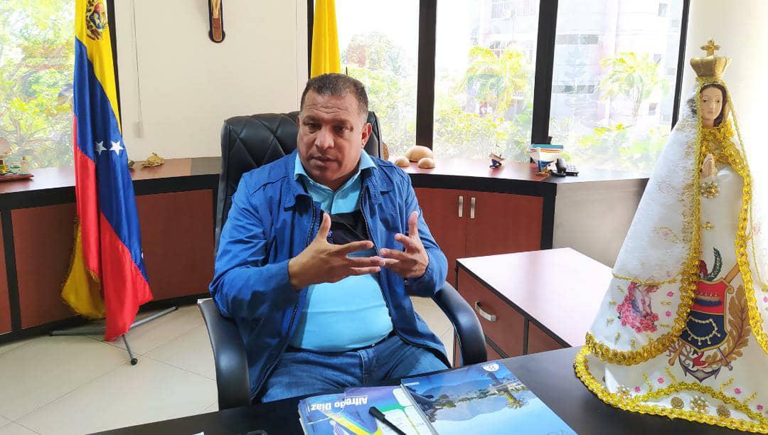 Alfredo Díaz Gobernador del estado Nueva Esparta.