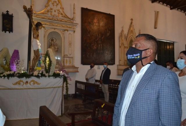 """El Gobernador de Nueva Esparta asistió a la misa solemne en honor a """"El Viejo de Pampatar"""""""