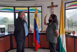 La abogada Julia Rosa Marín Rojas, juramentada como perfecto del municipio Marcano