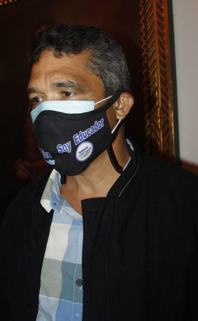 Celis Rodríguez, director de Educación de la Gobernación del estado Nueva Esparta