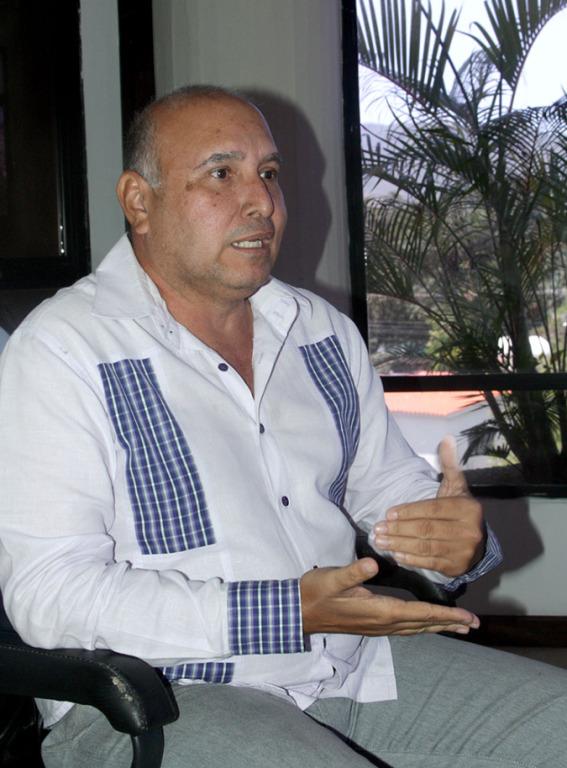 Esleban Gómez, presidente de Corposalud