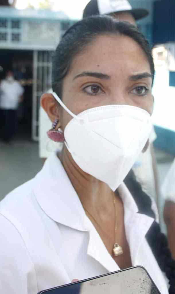 Dra. Gilcelys Alfonzo, directora hospital de Juangriego.