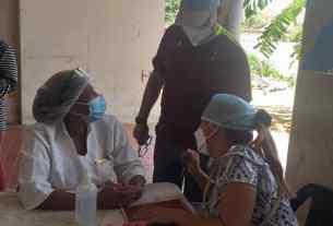 Los vecinos recibieron atención médica especializada