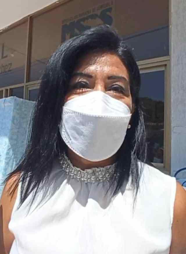 Dra. Olisbeth Aguilera, directora hospital de Punta de Piedras.