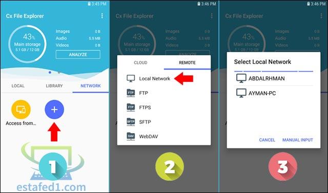 4.4 طرق مختلفة لتصفح ملفات هارد خارجي أو فلاشة USB على الموبايل وأيضا نقل الملفات بينهما
