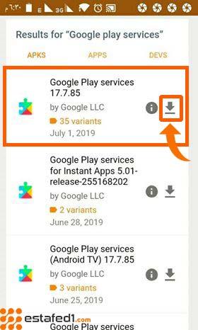 تحميل تطبيق google play services من apk mirror download