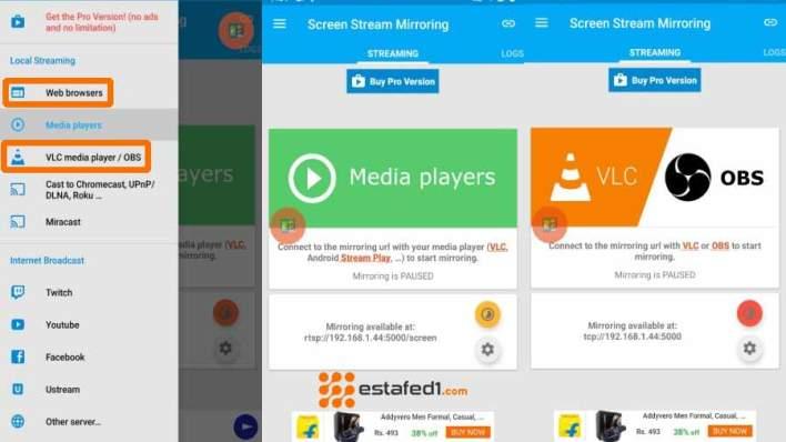 MobZapp   عرض الموبايل على شاشة الكمبيوتر من خلال WIFI