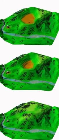 recuperi ambientali simulazione 3D