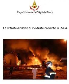 vigili fuoco incidente rilevante