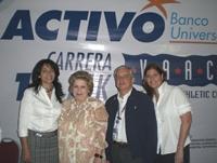 Rita Daleo, Maruja Mata, Max Salas y Kyra Machado