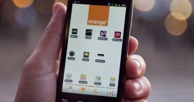 Smartphone Orange + Intel