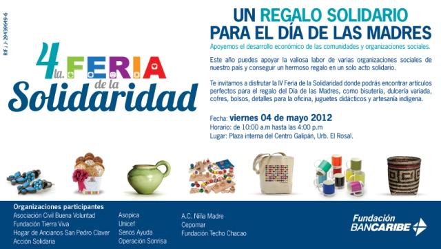 4ta. Feria de la Solidaridad Bancaribe