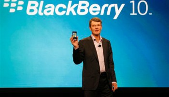 Thorsten Heins y BlackBerry 10