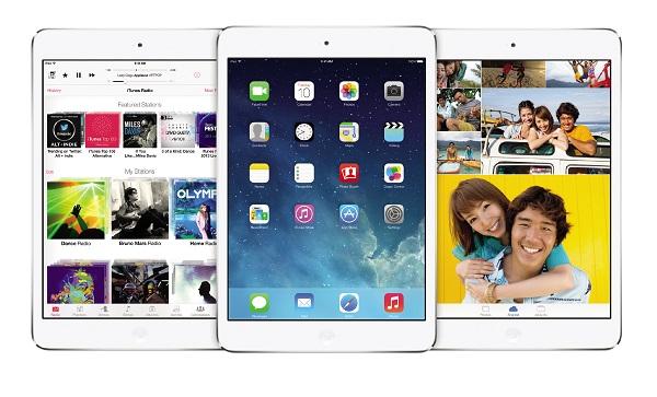 iOS 7 iPad mini