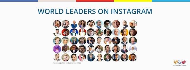 world leaders on instagram