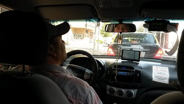 Conductores taxi