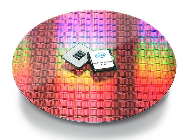 Xeon E7v4 on wafer
