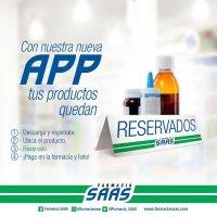En Farmacia SAAS nueva app permite reservar medicamentos desde el teléfono