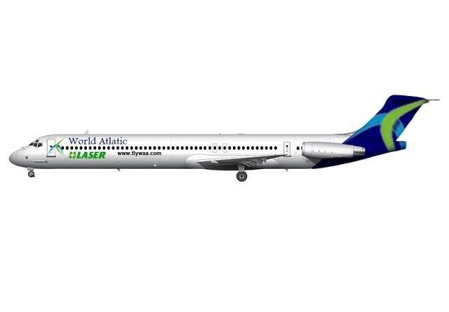 Avión Laser-World Atlantic