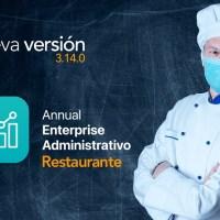 Nuevo Annual Enterprise Administrativo Restaurante de Saint