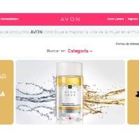 AVON continúa avanzando en su transformación digital y lanza su tienda online