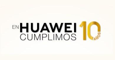Huawei Mobile cumple 10 años en Colombia, y los celebra con tres nuevas sorpresas en julio
