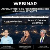 Seminario web gratuito: Rol de la conectividad inalámbrica y de los servicios OTT en Latinoamérica