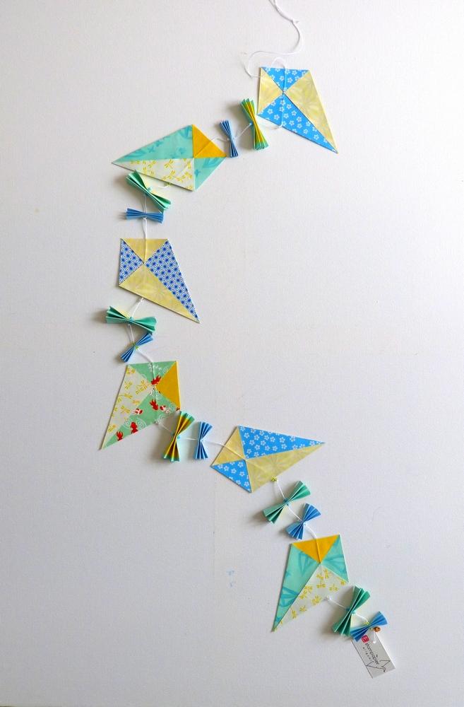 Guirlande cerf-volants