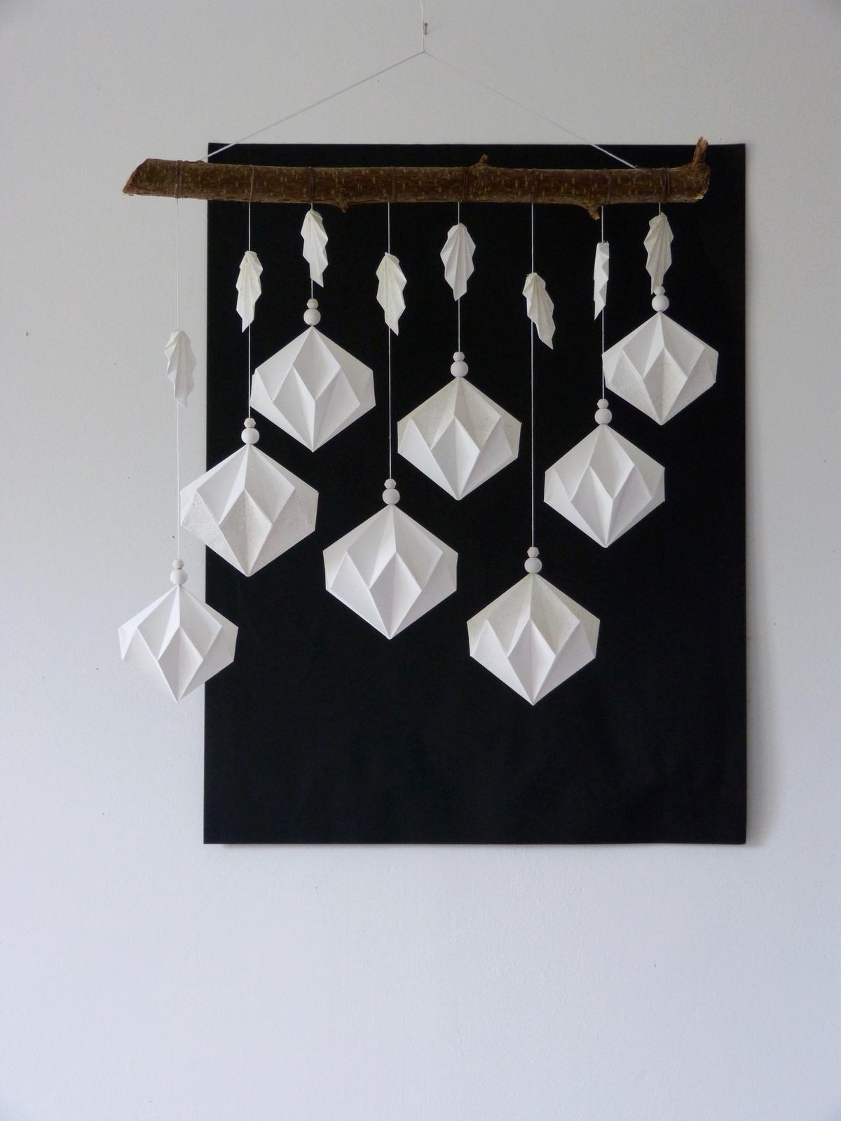 Petite suspension de diamants blancs