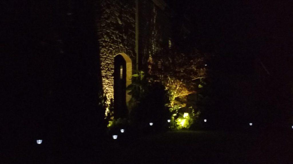 Estate Illumination in the Night