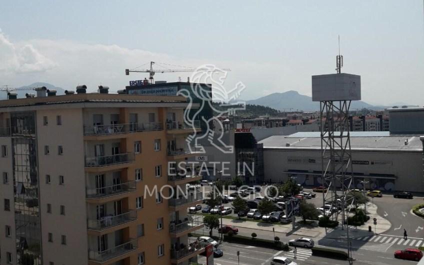 Podgorica, City Kvart'da 29m² Satılık Stüdyo Daire