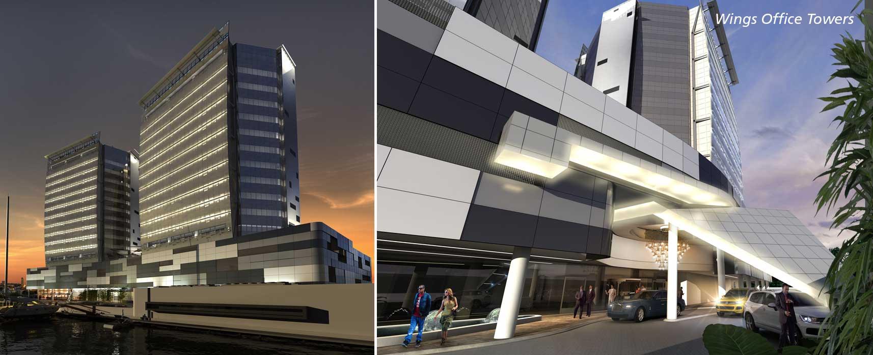 The Wings Towers. Image source: RMB Westport