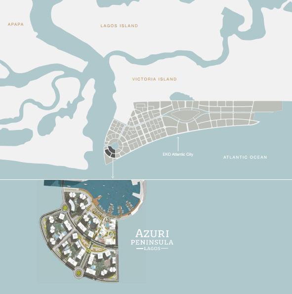 Azuri Peninsula Map