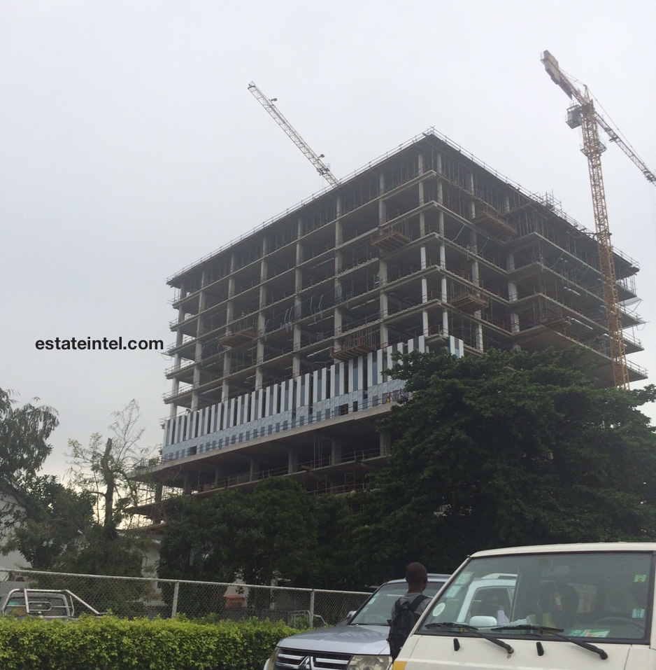Heritage Place Ikoyi begins cladding