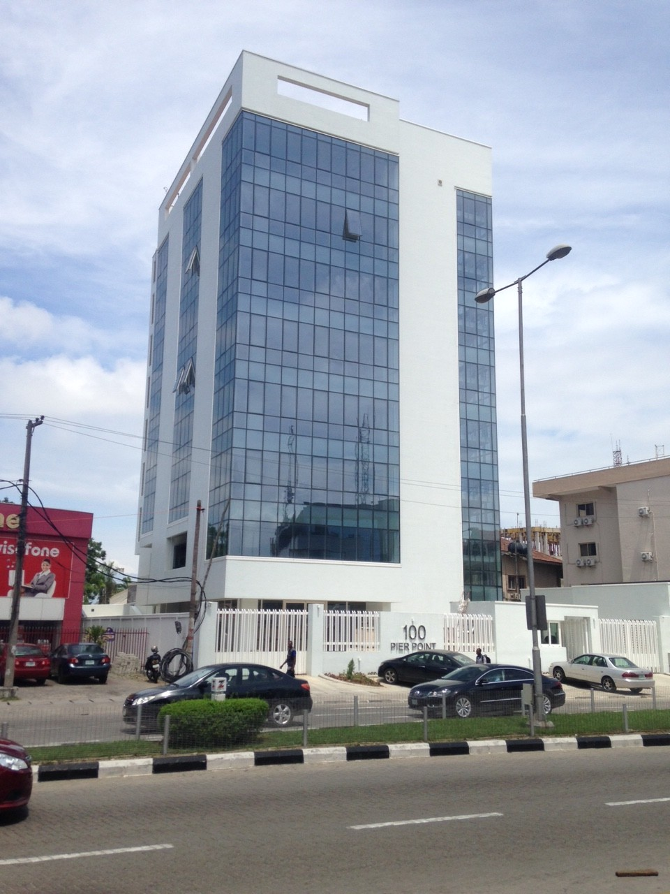 100 Pier Point, Ajose Adeogun. Image Credit: estateintel.com