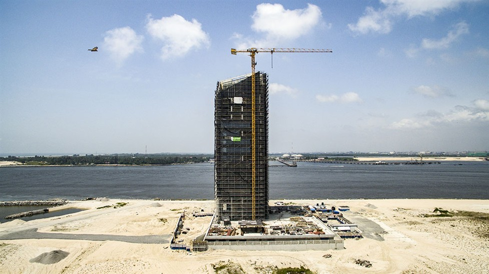 Alpha 1 (Afren Tower), Eko Atlantic. Image Source: lambertelectromec.com