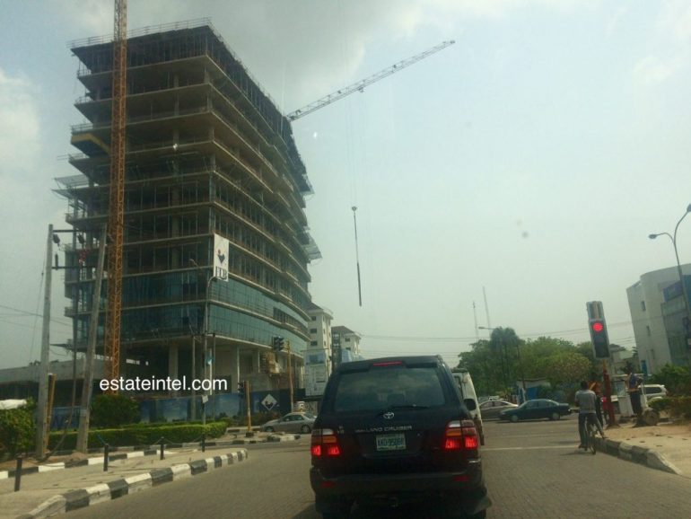 Kingsway Tower, Alfred Rewane Road (Kingsway Road), Ikoyi. January 2015
