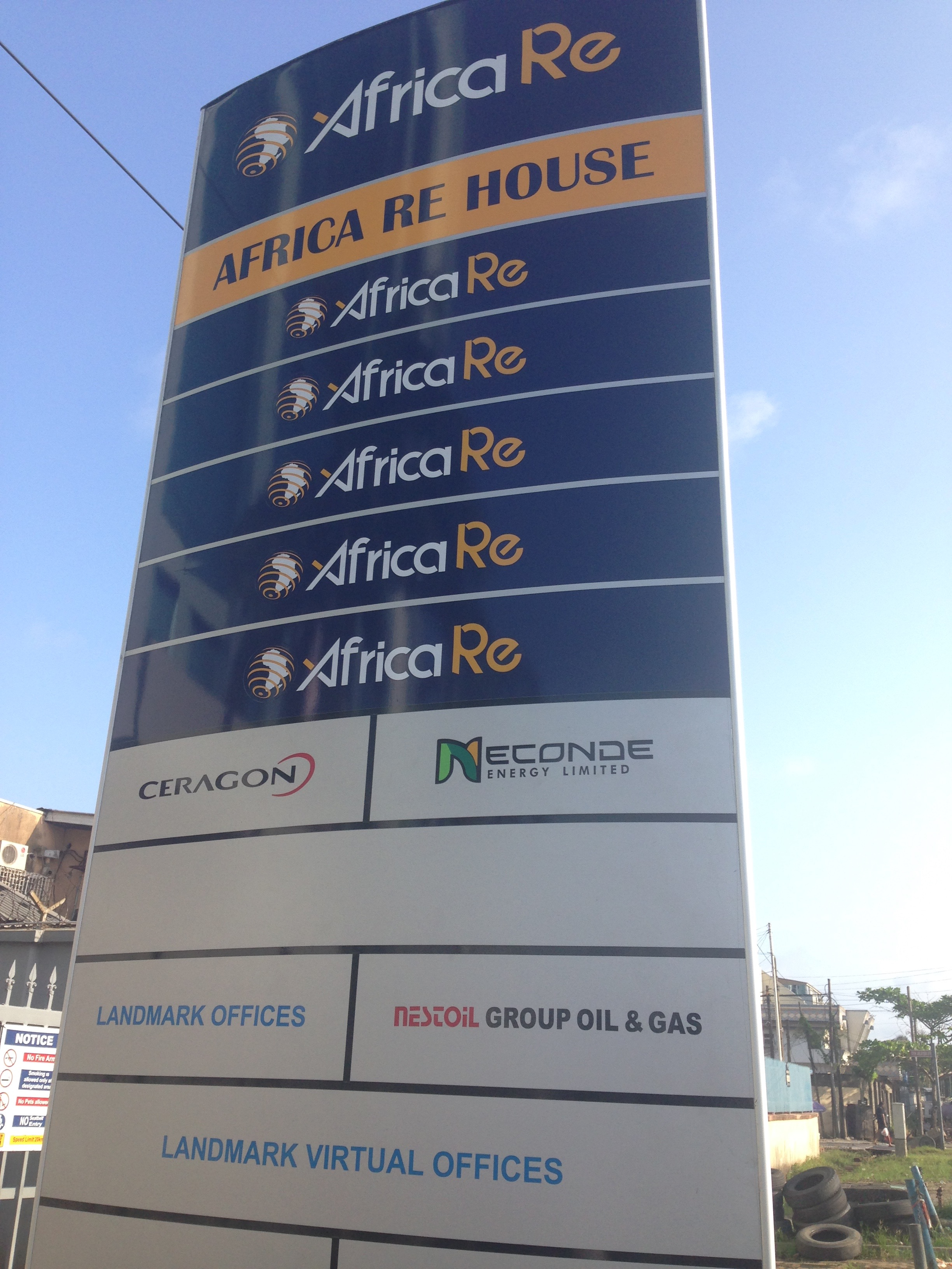 Africa Re Building Victoria Island Tenant Board