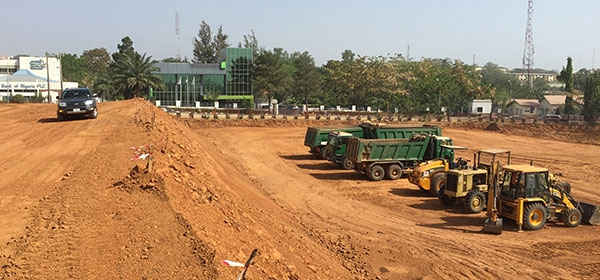 Development: Novare Central Office Park, Wuse 1 - Abuja. Image Source: Novare. December 2015