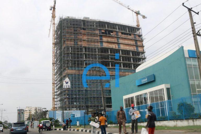 Kingsway Tower, Alfred Rewane (Kingsway) Road, Ikoyi, Lagos. August 2016.