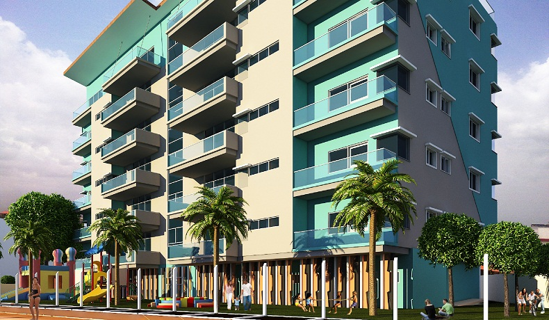 Admiralty Heights, Admiralty Road. Lekki Phase 1. Image source: Five Cowrie Creek Condominiums