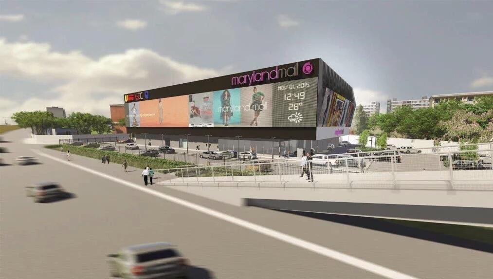Maryland Mall. Ikorodu Road, Lagos.
