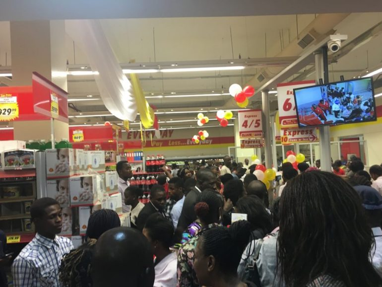 Photos from the Maryland Mall Opening. Ikorodu Road, Lagos