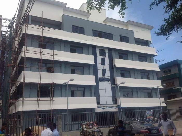 Renovation: N.I.J House, Adeyemo Alakija Street, Victoria Island - Lagos. May 2015. Image Source: Bolu-Tokun & Co.