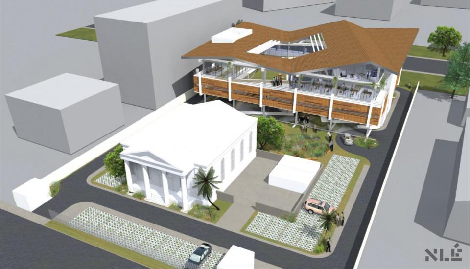 Development: Credit Direct Limited HQ, Isaac John Street, Ikeja GRA - Lagos. Image Source: NLE Works
