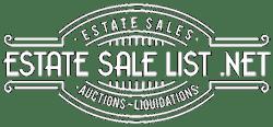 Estate Sale List .NET
