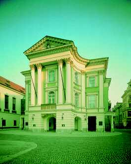 Prague Opera: Estates Theatre. The world premiere of Don Giovanni was held here in 1787 and the great Amadeus Mozart himself was conducting... Know more about the actual Don Giovanni production!