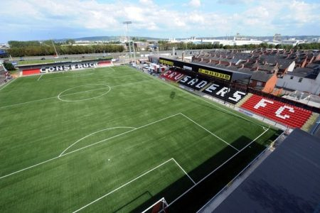 northern ireland premiership champions crusaders fc and their synthetic turf pitch estc emea synthetic turf council