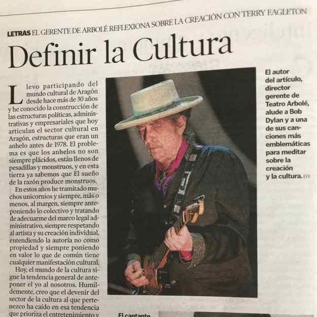 Definir la Cultura de Esteban Villarrocha